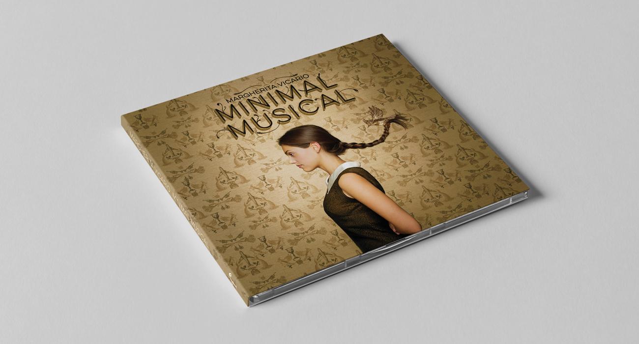 La copertina dell'album musicale Minimal Musical di Margherita Vicario
