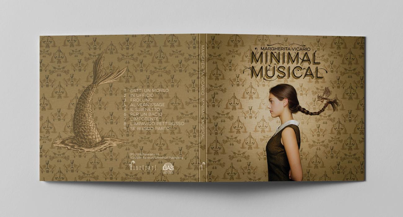 Copertina del CD con booklet Minimal Musical di Margherita Vicario
