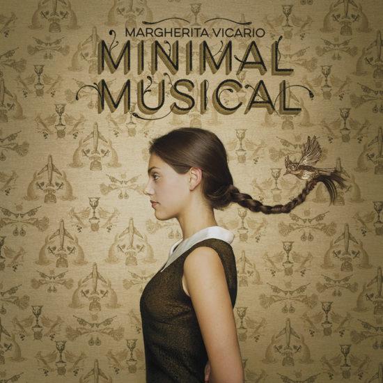 La copertina dell'album musicale Minimal Musical di Margherita Vicario, progettata e realizzata dallo studio grafico Studio Polpo