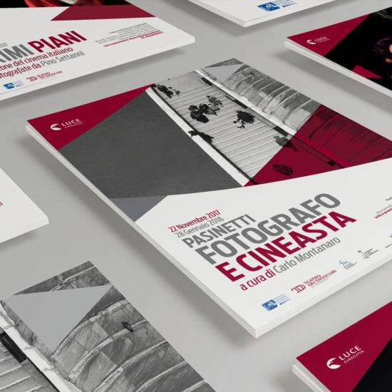 Dettaglio dei manifesti progettati e realizzati dallo studio di grafica Studio Polpo